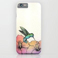Hummingbird and Hibiscus Slim Case iPhone 6