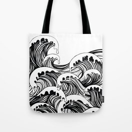 the river laughed, giggle giggle giggle Tote Bag
