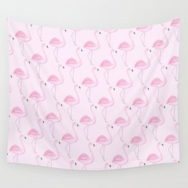Flamingo 2 Wall Tapestry