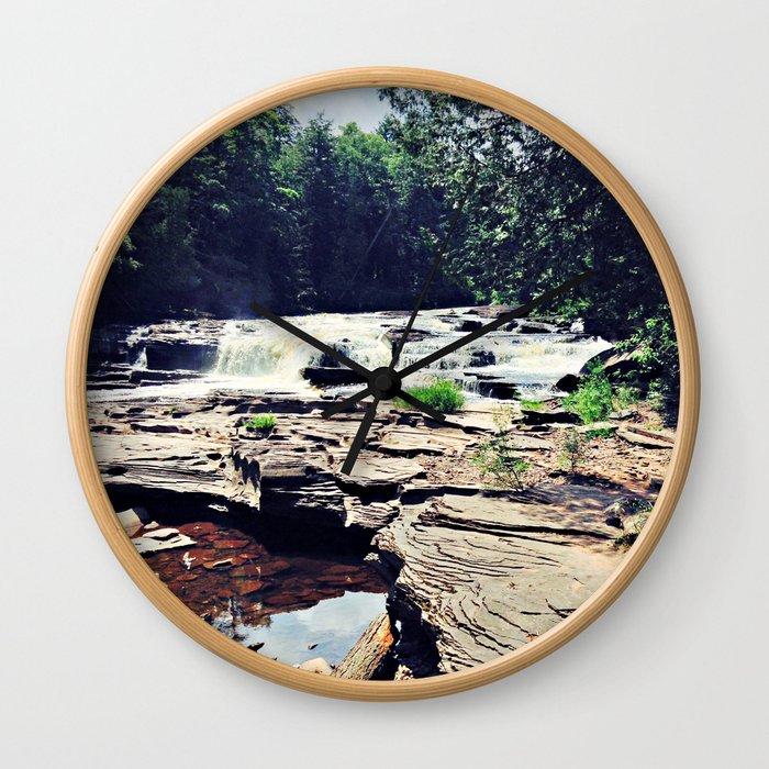 Northern Michigan Wall Clock