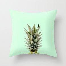 Pineapple Pastel – Mint Throw Pillow