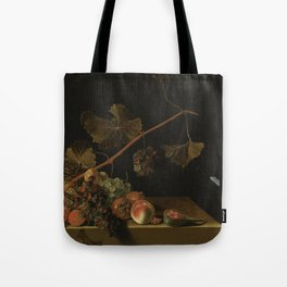 Adriaen Coorte - Still life with fruit and a grapevine Tote Bag