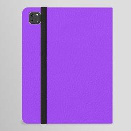 Bright Fluorescent Neon Purple iPad Folio Case