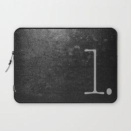 NUMBER 1 BLACK Laptop Sleeve