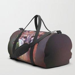 Fox Puppet Duffle Bag