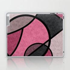 Pink sunrise , abstract Laptop & iPad Skin