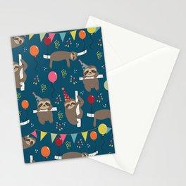Birthday Sloths Stationery Cards