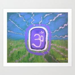 Aum Cosmic Consciousness Art Print