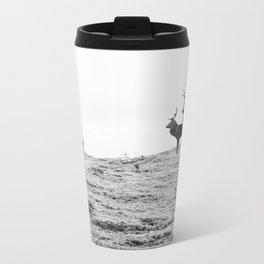 Stags on the hill Metal Travel Mug