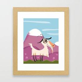 billy goat gruff Framed Art Print