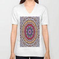 woodstock V-neck T-shirts featuring Woodstock Pattern kinda by Pepita Selles
