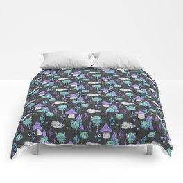 Magical Monster Garden-Nightlight Comforters