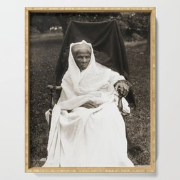 Harriet Tubman, 1911 Serving Tray