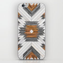 Urban Tribal Pattern 8 - Aztec - Wood iPhone Skin