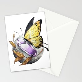 Butterfly Moon Stationery Cards