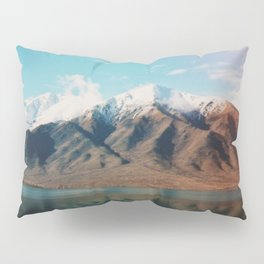 Film photo of New Zealand Glacier Landscape Pillow Sham