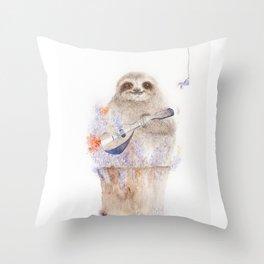 My Mandolin Throw Pillow
