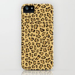 Jaguar pattern iPhone Case