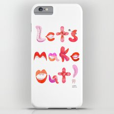 Let's Make Out! iPhone 6 Plus Slim Case