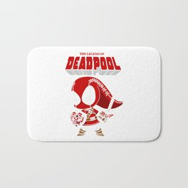 The Lagend Of Dead pool Bath Mat