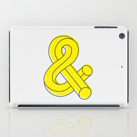 ampersand iPad Cases featuring Ampersand by MADEYOUL__K