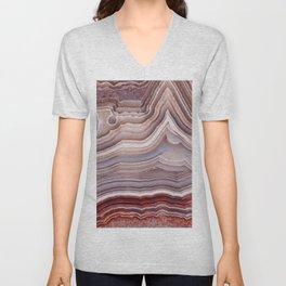 Agate Crystal Unisex V-Neck