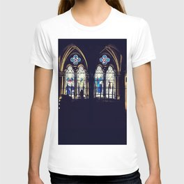 The stain glass tomb of Rochester T-shirt