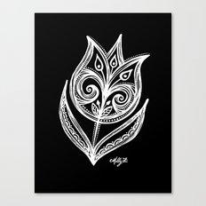 White Flower 89 Canvas Print