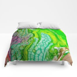 Histology of Abstract Comforters