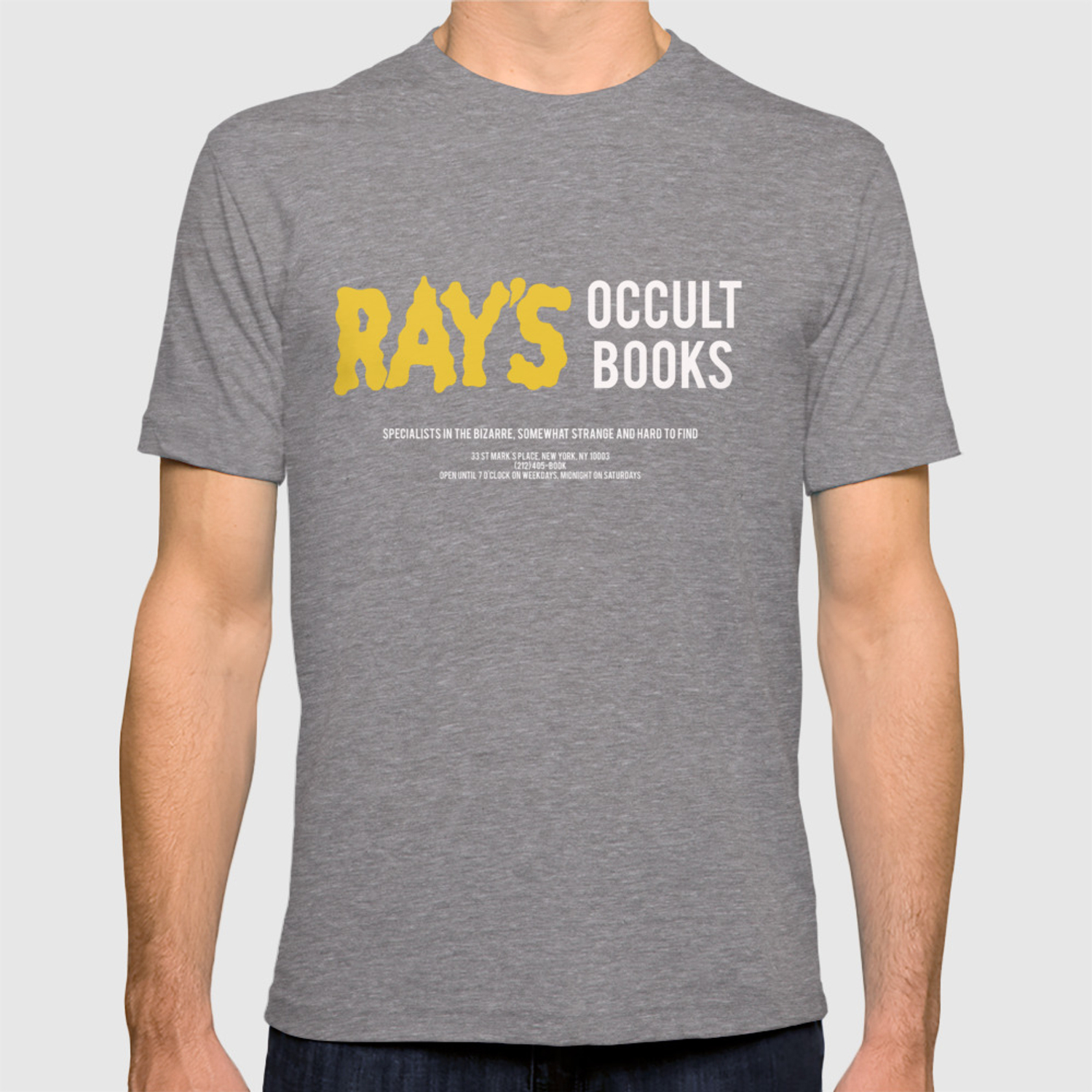 Ray's Occult Books Ghostbusters tribute T-shirt