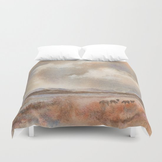 Graze On Duvet Cover