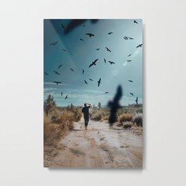 Skies of Prey Metal Print