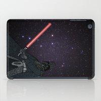 darth vader iPad Cases featuring Darth Vader  by Rebecca Bear