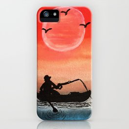 Patience and Solitude iPhone Case