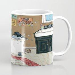 Wieners in the Tub Coffee Mug