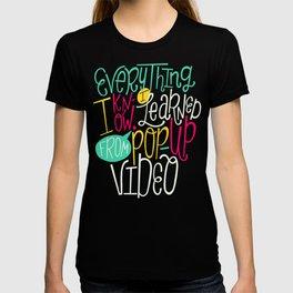 Pop Up Video T-shirt