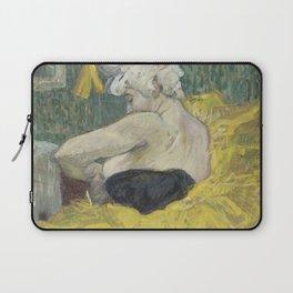 """Henri de Toulouse-Lautrec """"The Clown Cha-U-Kao"""" Laptop Sleeve"""
