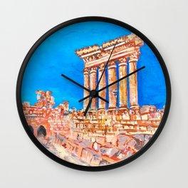 Baalbek Wall Clock