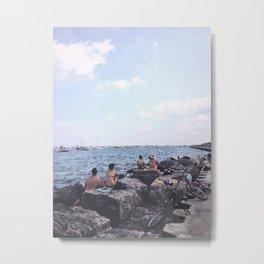 Summer at Lake Michigan, Chicago Metal Print