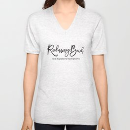 Rockaway Beach - the hipsters hamptons Unisex V-Neck