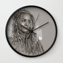 Lilakoi Wall Clock