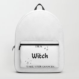 I'm a witch Backpack