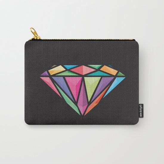 Geometric Diamond Carry-All Pouch