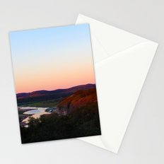cottage morning Stationery Cards