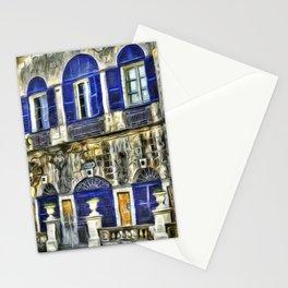 Maltese House Mdina Van Gogh Stationery Cards