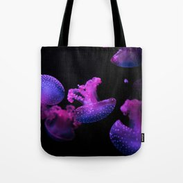 Pink Jelly Fish Tote Bag