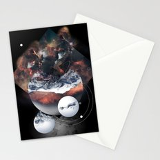 Crystal Nebula Stationery Cards