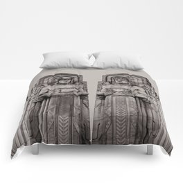 The Guardians in Grey Comforters