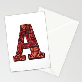 A Letter Stationery Cards