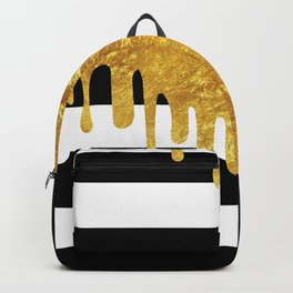 Gold Drips Backpack